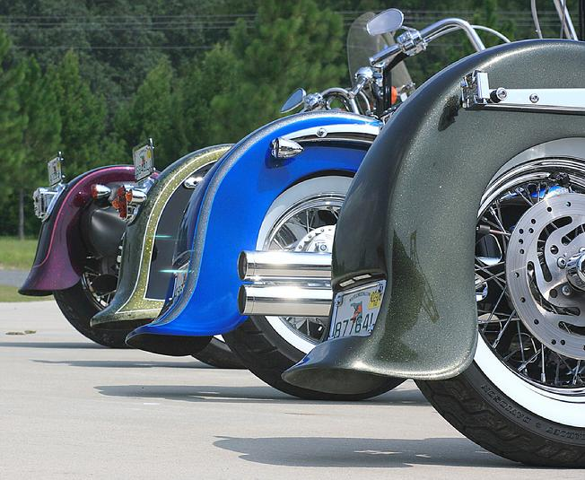 OLDYS CUSTOM COMPOSITES, Cool custom fenders for your